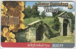 Magyar telefonkártya 0328  2003    Magyar borvidékek Tokaj  200.000  Db-os