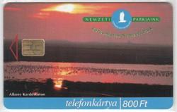 Magyar telefonkártya 0333  1999 Kőrős-Maros nemzeti park    100.000  Db-os