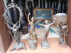 4 db antik szobor