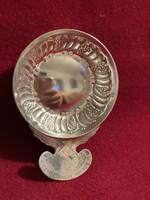 Sommelier/bor kóstoló csésze/antik ezüst/925/Francia gyártmány! 1900-as évek! 73 gramm