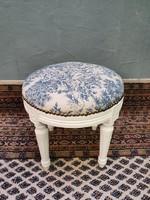 Vintage ülőke, zsámoly, puff