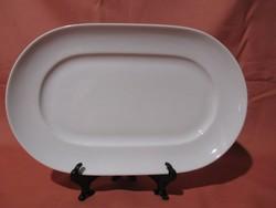 Alföldi kisméretű fehér pecsenyés tál, tálca, tányér