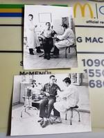 1965 Harcászati tart. kiképzés Vérnyomás mérés, injekció beadás