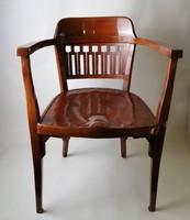 Otto Wagner szecessziós karfás szék - J.&J. Kohn Wien