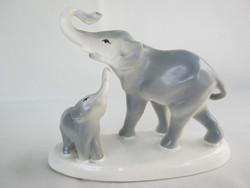 Gránit kerámia elefánt