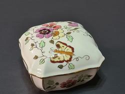 Zsolnay Pillangós bonbonier 10.5 x 10.5
