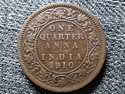 India VII. Edward 1/4 Anna 1910 (id43371)