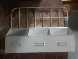 Ipari retro, industrial stilusú fém tárolók _ LOFT