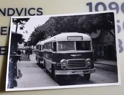 Ikarus 311 busz 9,5x6,5 cm