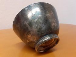 Antik WMF ezüst bevonatú, ezüstözött, pohár, csésze, tálka, jelzett