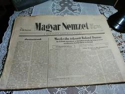 Régi újságok , Magyar Nemzet 1983.Vll.6 -1985.03.11