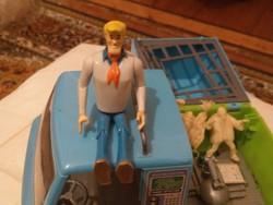 Vintage Scooby Doo készlet ritkaság figurákkal