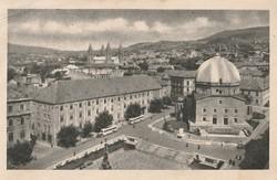 Régi képeslap, Üdvözlet Pécsről