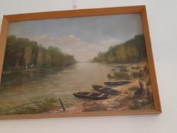 Mónus Sándor: Mártélyi Tiszapart