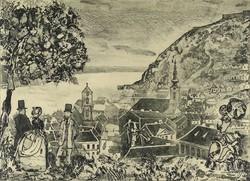 """1C968 Kondor Lajos : """"Tabán 1872"""""""