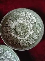 3 db Royal Tudor Ware STAFFORDSHIRE angol porcelán tányét