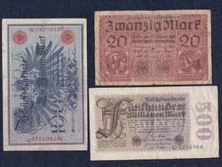 3 db német márka (id5562)