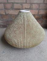 Antik régi lámpaernyő lámpabúra