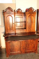 Antik biedermeier régi kistálaló szekrény