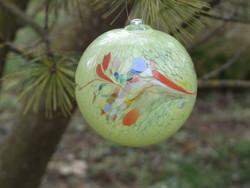 Muránói üveg gömb (200122)