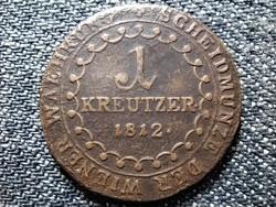 Ausztria II. Ferenc (1792-1835) 1 Krajcár 1812 C (id43074)