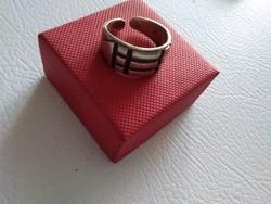 Antlantiszi ezüst gyűrű