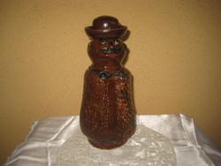 Miska kancsó , kalapos ,  az erdélyi Nagykárolyból   23 cm