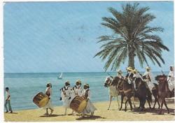 Képeslap Tunéziából bélyeggel 1979