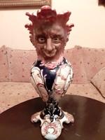 Antik,Eichwald, majolika váza