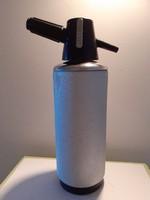 Retro szódásszifon régi fém nagy szódás szifon