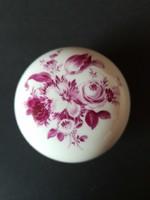 Meissen-i porcelán cukortartó, bonbonier