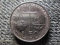 Vatikán II. János Pál 50 líra 1992 R (id43411)