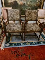 Pair of old armchairs