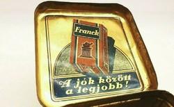 Franck Régi antik kávés lemezdoboz lemez doboz 30-as évek