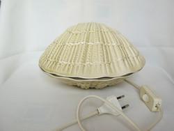 Iparművész Világhy kerámia kagyló alakú lámpa