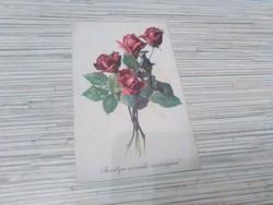 Régi Üdvözlő képeslap.