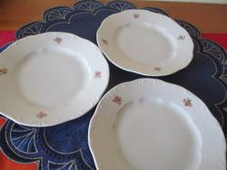 Zsolnay virágnintás szendvics tányérok (3)
