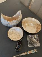 Egyedi kerámia és fém dísz és használati tárgyak eladók