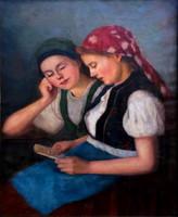Glatz Oszkár ( 1872 - 1958) : Levél a kedvesemtől
