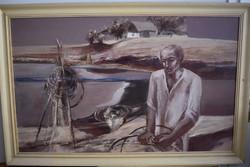DÉR ISTVÁN (1937 – 1993) A Tiszai halász
