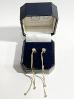 Extra mutatós, 14k arany fülbevaló