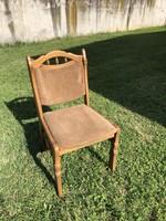 Kárpitozott tölgyfa szék