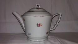 Zsolnay porcelán manófüles teáskanna