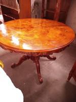 Bécsibarok étkezőasztal 120x78cm