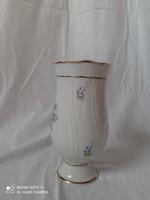 Hollóháza hajnalka mintás porcelán váza