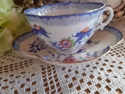 Sarreguemines kávés csésze alátétjével
