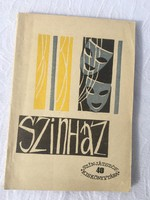 Szinház - Egyfelvonásosok - Népművelési intézet 1963- Színjátszók Kiskönyvtára