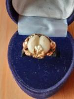 Vadász gyűrű 14 karát