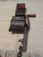 Antik diódaráló, jelzett, CAF