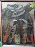 Schéner Mihály, Jelképek festménye eladó